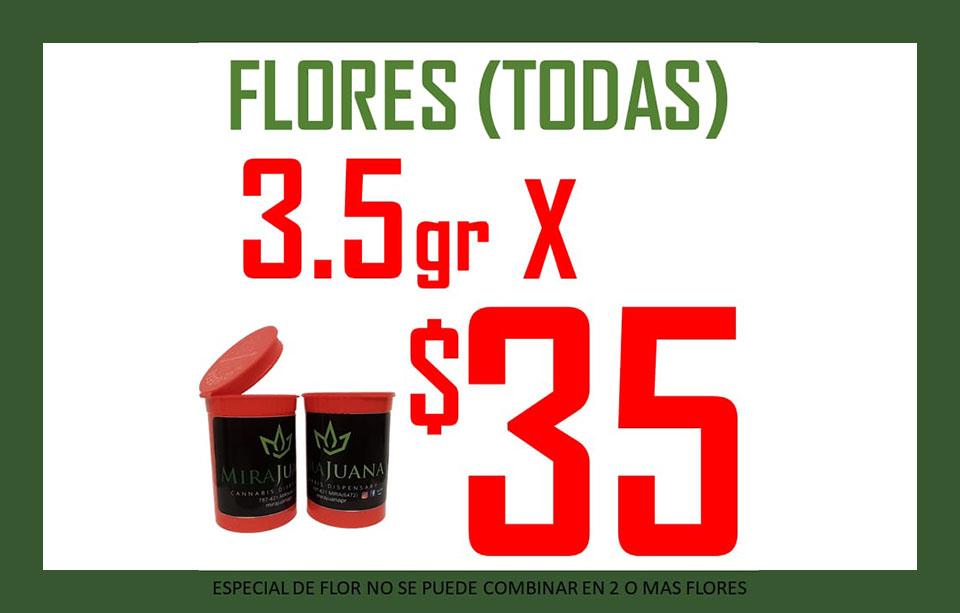 3.5g de Flores