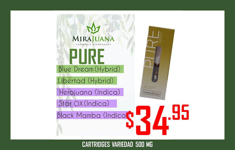 Pure 500mg – TuMedicina